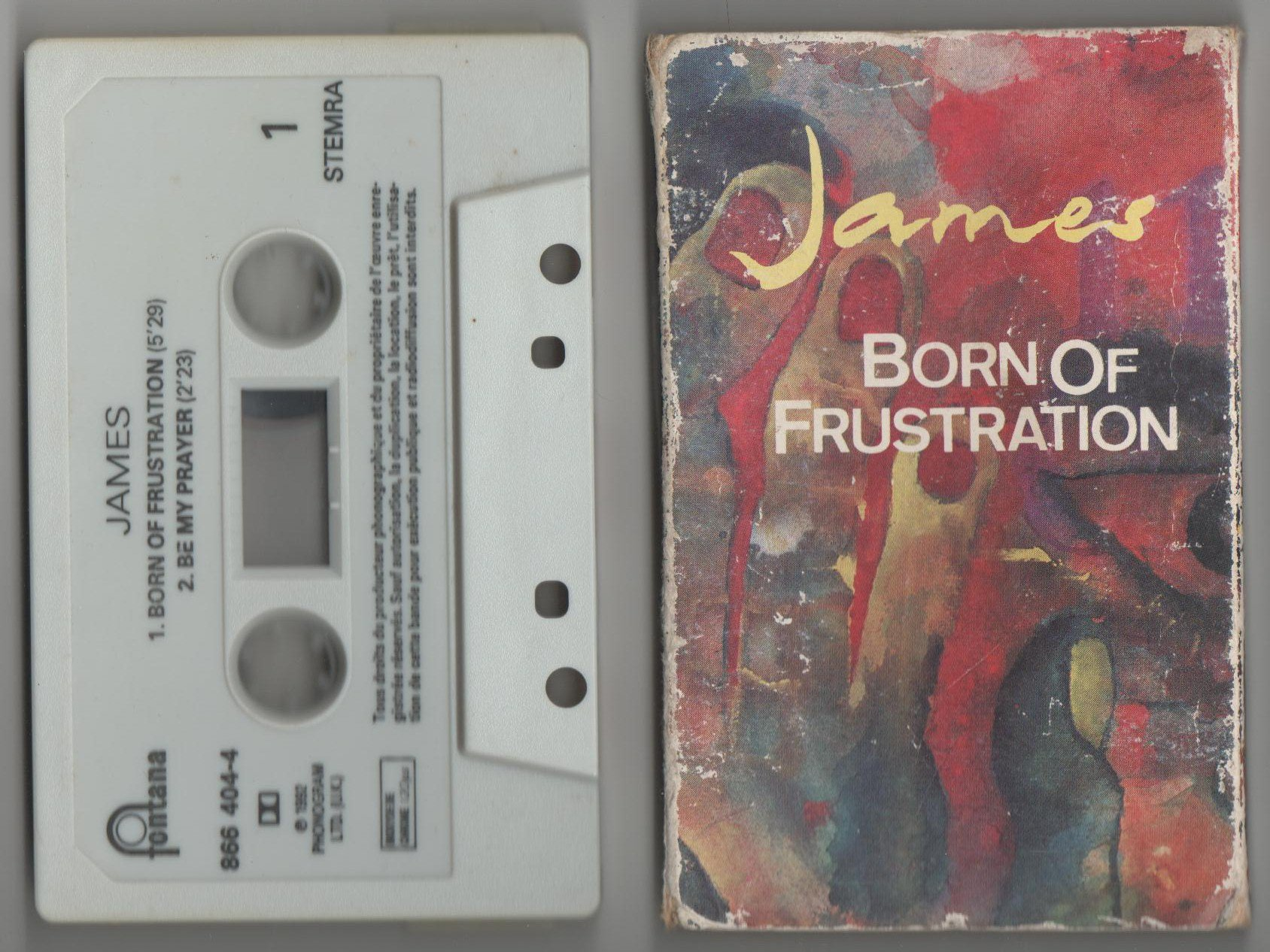 One Of The Three | Born Of Frustration (France Cassette