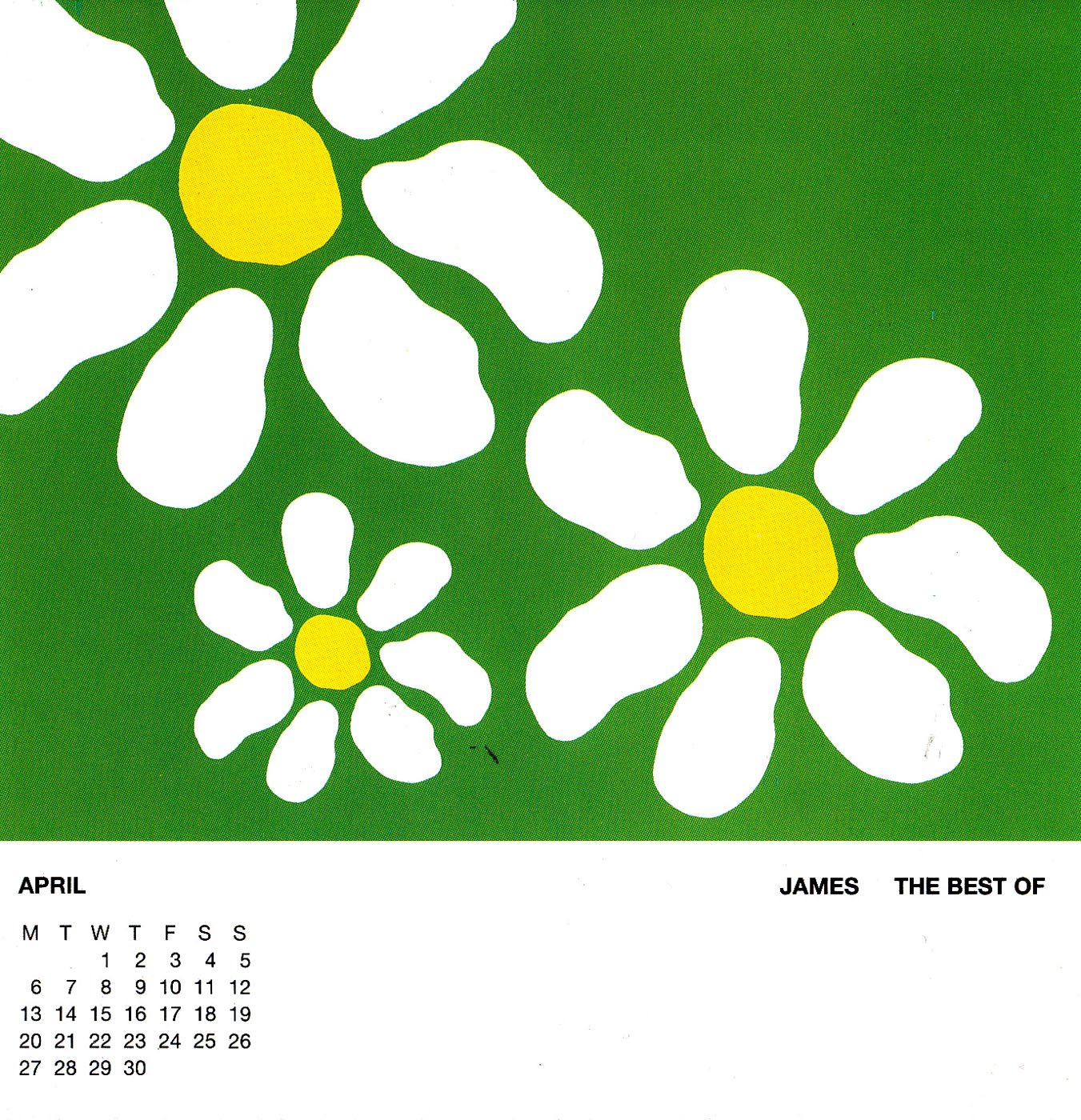 One Of The Three 1998 Calendar 041998 Calendar 04 One Of The Three