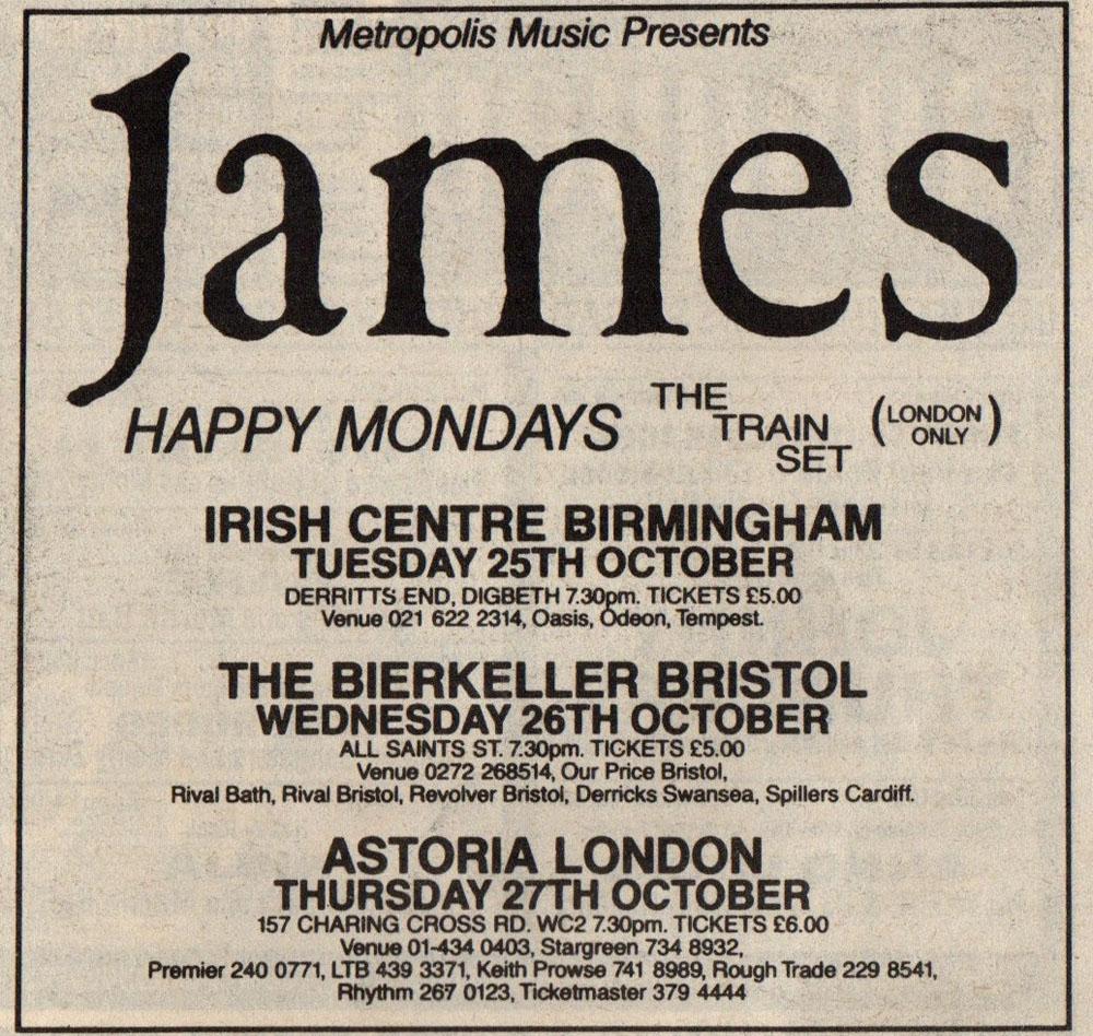 One Of The Three | Birmingham Irish Centre – 25th October ...