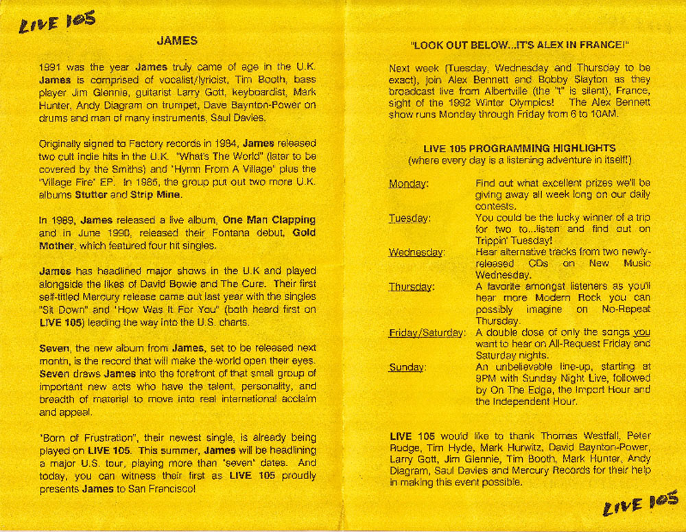 One of the three 1992 02 15 san francisco union square booklet 1992 02 15 san francisco union square booklet 2 ccuart Image collections
